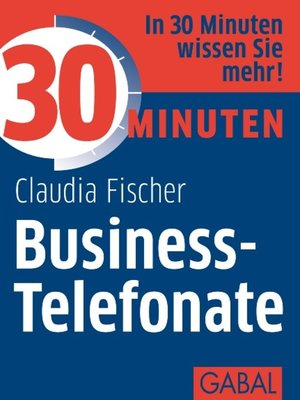 cover image of 30 Minuten Business-Telefonate