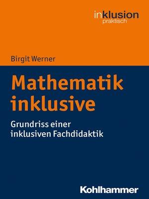 cover image of Mathematik inklusive