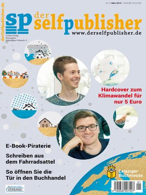 cover image of der selfpublisher 13, 1-2019, Heft 13, März 2019