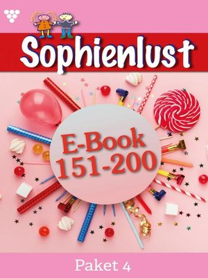 cover image of Sophienlust Paket 4 – Familienroman