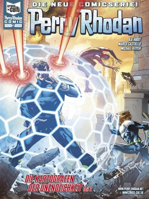 cover image of Perry Rhodan Comic 2