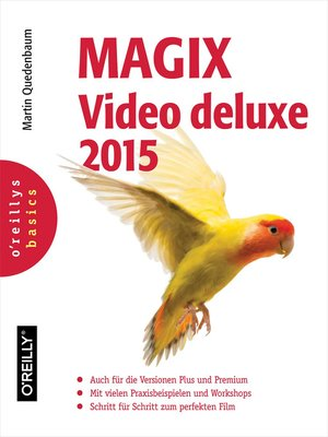 cover image of MAGIX Video deluxe 2015