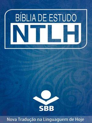 cover image of Bíblia de Estudo NTLH