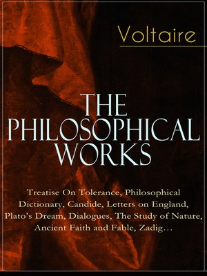 cover image of Voltaire--The Philosophical Works