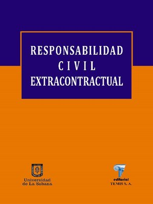cover image of Responsabilidad civil extracontractual