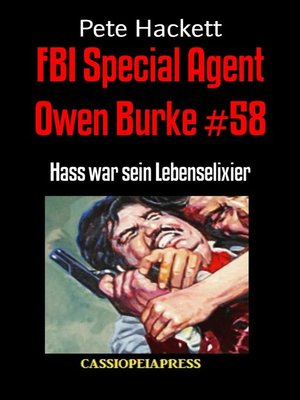 cover image of FBI Special Agent Owen Burke #58