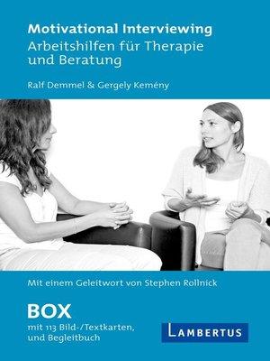 cover image of Motivational Interviewing Box mit Fragekarten