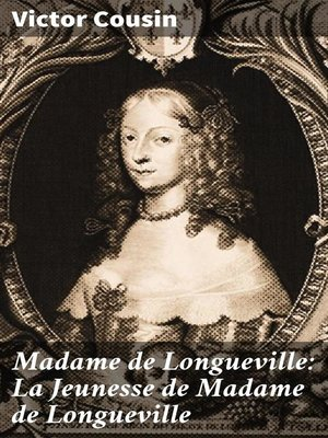 cover image of Madame de Longueville