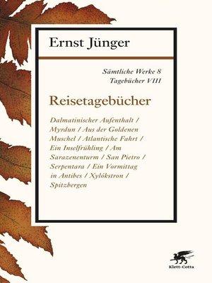 cover image of Sämtliche Werke--Band 8