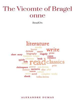 cover image of Alexandre Dumas--The Vicomte of Bragelonne