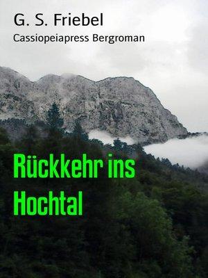 cover image of Rückkehr ins Hochtal