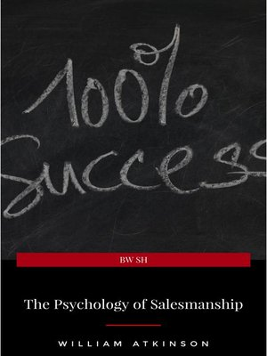 cover image of The Psychology of Salesmanship