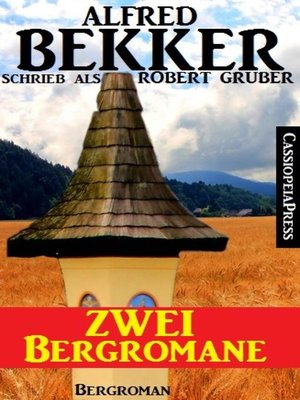 cover image of Zwei Bergromane