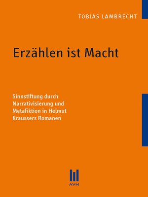 cover image of Erzählen ist Macht
