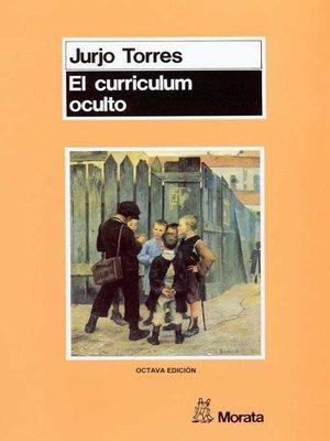 cover image of El currículum oculto