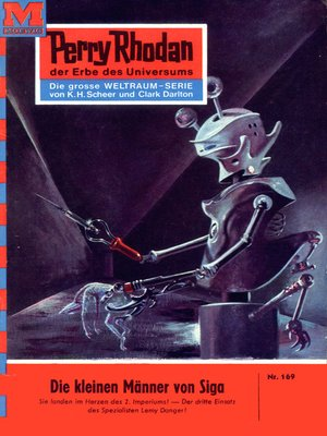 cover image of Perry Rhodan 169