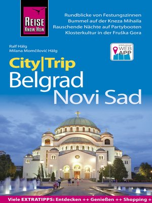 cover image of Reise Know-How CityTrip Belgrad und Novi Sad