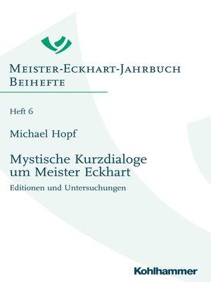 cover image of Mystische Kurzdialoge um Meister Eckhart