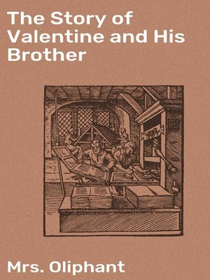 cover image of The Story of Valentine and His Brother