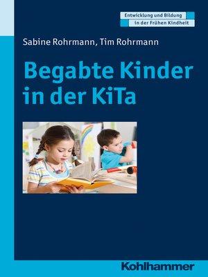 cover image of Begabte Kinder in der KiTa