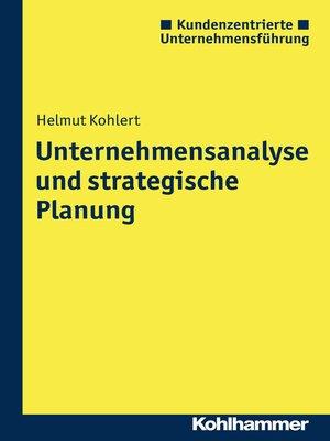 cover image of Unternehmensanalyse und strategische Planung