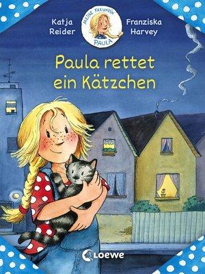 cover image of Meine Freundin Paula--Paula rettet ein Kätzchen