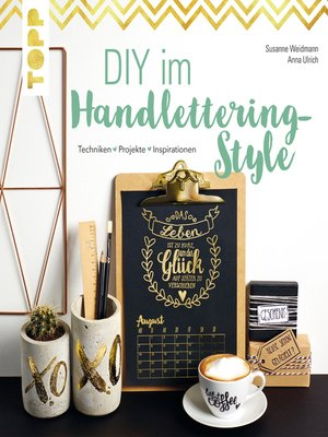 cover image of DIY im Handlettering-Style