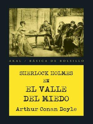 cover image of El valle del miedo
