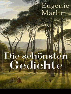 cover image of Die schönsten Gedichte von Eugenie Marlitt