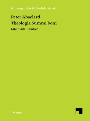cover image of Theologia Summi boni