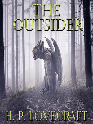 cover image of The Outsider (Howard Phillips Lovecraft)