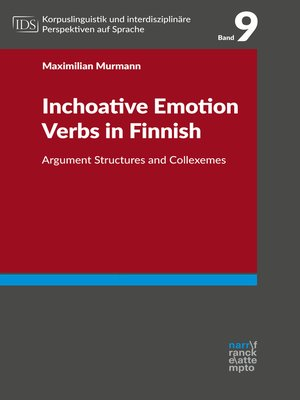 cover image of Inchoative Emotion Verbs in Finnish