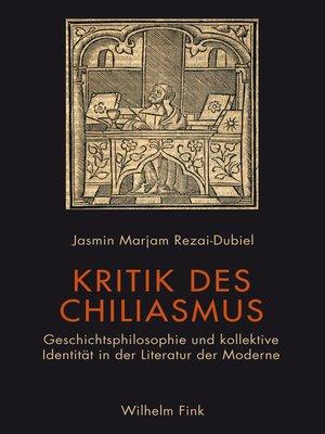 cover image of Kritik des Chiliasmus