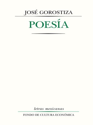 cover image of Poesía