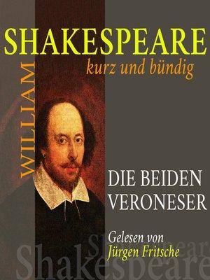 cover image of Die beiden Veroneser