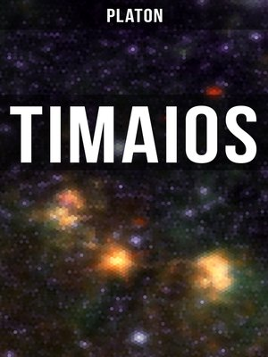 cover image of Timaios