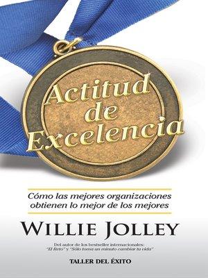 cover image of Actitud de excelencia