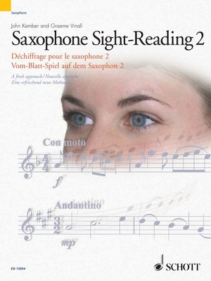 cover image of Saxophone Sight-Reading 2