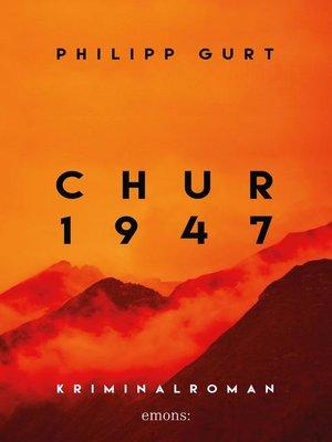 cover image of Chur 1947 (orange)