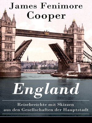 cover image of England--Reiseberichte mit Skizzen aus den Gesellschaften der Hauptstadt