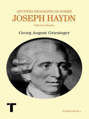 cover image of Apuntes biográficos sobre Joseph Haydn