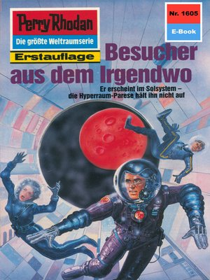 cover image of Perry Rhodan 1605