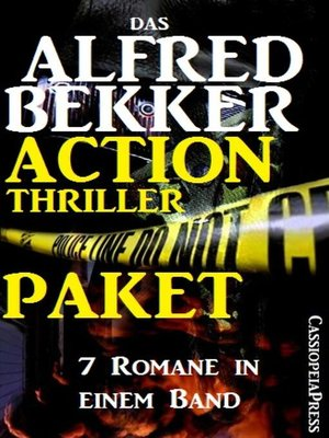 cover image of Das Alfred Bekker Action Thriller Paket