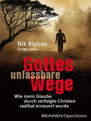 cover image of Gottes unfassbare Wege