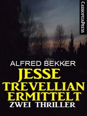 cover image of Jesse Trevellian ermittelt