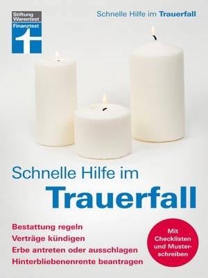 cover image of Schnelle Hilfe im Trauerfall