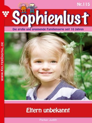 cover image of Sophienlust 115 – Familienroman