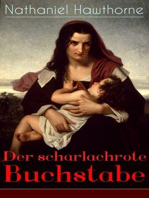 cover image of Der scharlachrote Buchstabe