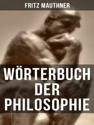 cover image of Wörterbuch der Philosophie