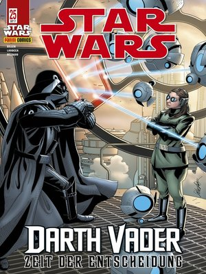 cover image of Star Wars, Comicmagazin 25--Darth Vader--Zeit der Entscheidung